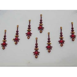 12_168 Bindis Body Jewelry Designer Handicraft