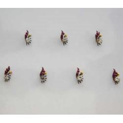 18_190 Stick on Sticker Body Jewelry Fancy Bindi