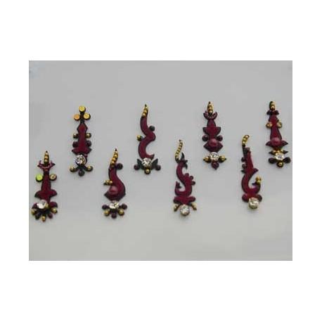 30_137 Bindis Body Jewelry Designer Handicraft