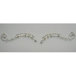 b102 ~Peer~ Forehead Eyebrow Decoration Jewels Sticker Body Jewelry
