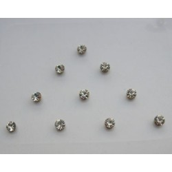 st3 Bindi Crystal Body Dots Sticker Jewelry Non Piercing