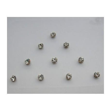 st3 Bindi Crystal Body Dots Sticker Jewelry Non Piercing