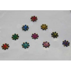 36_138 Stick on Sticker Body Jewelry Fancy Bindi