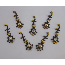 Stick on Sticker Body Jewelry Fancy Bindi es149