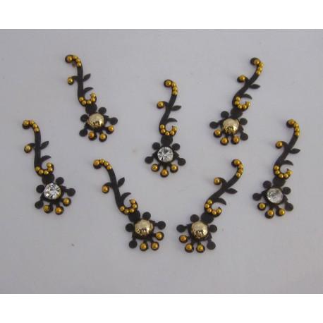Stick on Sticker Body Jewelry Fancy Bindi es149