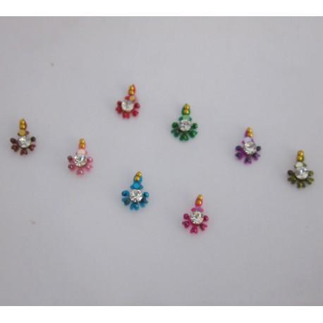 Sticker Body Jewelry Non Piercing Bindi Handmade jewelry es141