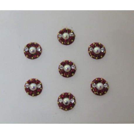 Bindis Body Jewelry Designer Handicraft Body Jewelry Designer Bindi Non Piercing jewelry