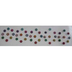 b6~Long Bindi Card Stick on Sticker Body Jewelry