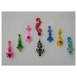 36_85 Stick on Sticker Body Jewelry Fancy Bindi