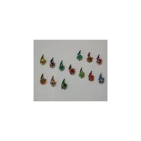 42_78 Bindis Body Jewelry Designer Handicraft