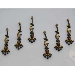 60_51 Bindis Body Jewelry Designer Handicraft