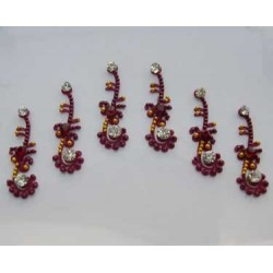 60_48 Bindis Body Jewelry Designer Handicraft