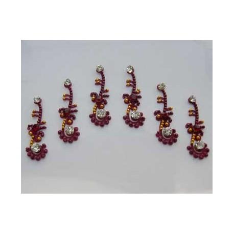 60_48 Bindis Body Jewelry Designer Handicraft