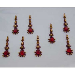 12_171 Bindis Body Jewelry Designer Handicraft