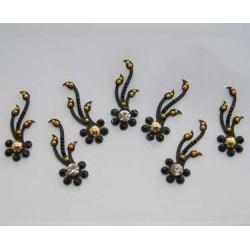 18_191 Stick on Sticker Body Jewelry Fancy Bindi
