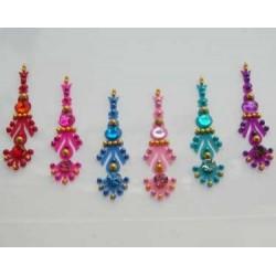 30_168 Bindis Body Jewelry Designer Handicraft