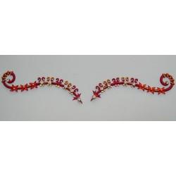 b101 ~Peer~ Forehead Eyebrow Decoration Jewels Sticker Body Jewelry