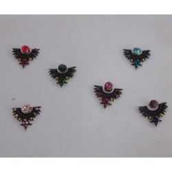 Bindis Body Jewelry Designer Handicraft Sticker BINDI kumkum for sale online es144