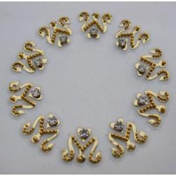 bz54 Belly Bindis Sticker Bindi Body Jewelry Non Piercing