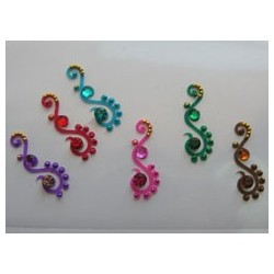 24_98 Bindis Body Jewelry Designer Handicraft