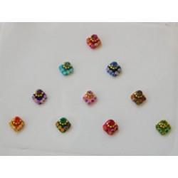 36_93 Stick on Sticker Body Jewelry Fancy Bindi