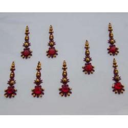 12_171 Bindis Body Jewelry Designer Handicraft