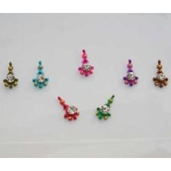 18_192 Stick on Sticker Body Jewelry Fancy Bindi