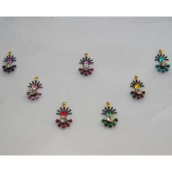 18_220 Stick on Sticker Body Jewelry Fancy Bindi