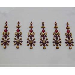 30_138 Bindis Body Jewelry Designer Handicraft