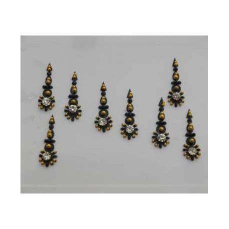 24_119 Bindis Body Jewelry Designer Handicraft