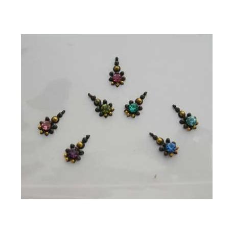 24_128 Bindis Body Jewelry Designer Handicraft