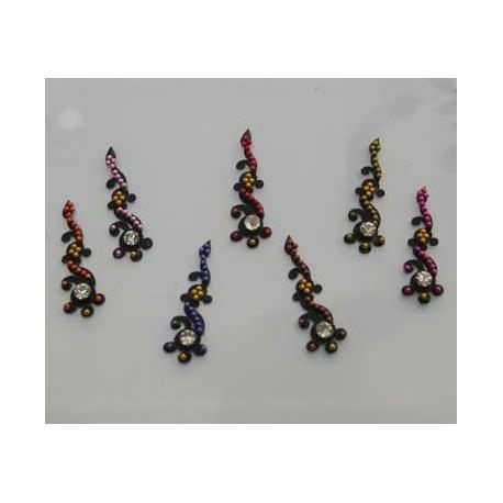 24_131 Bindis Body Jewelry Designer Handicraft