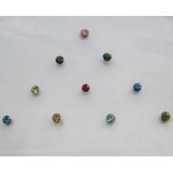 st5 Bindi Crystal Body Dots Sticker Jewelry Non Piercing