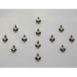 36_145 Stick on Sticker Body Jewelry Fancy Bindi