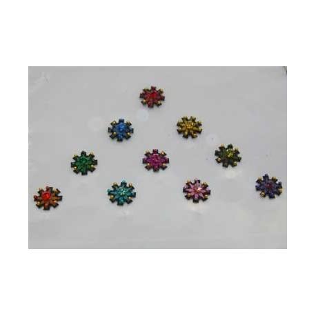 36_138 Stick on Sticker Body Jewelry Fancy Bindi