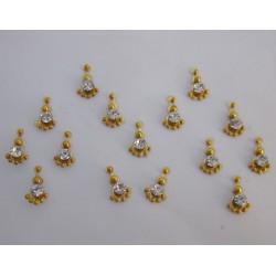 Stick on Sticker Body Jewelry Fancy Bindi es151