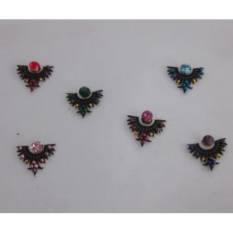 Sticker Body Jewelry Non Piercing Bindi Handmade jewelry es144