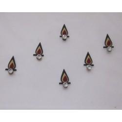 12_184 Bindis Body Jewelry Designer Handicraft