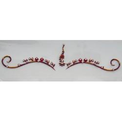 b121 ~Peer~ Forehead Eyebrow Decoration Jewels Sticker Body Jewelry