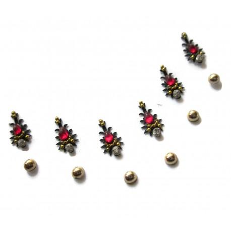 Stick on Sticker Body Jewelry Fancy Bindi