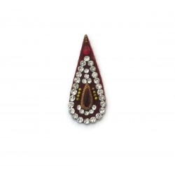 Bollywood Fashion Women's Stick on Sticker Body Jewelry Fancy Tilak Bindi es389