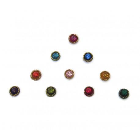 Bindis Body Jewelry Designer Handicraft Sticker BINDI kumkum for sale online es164