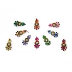 Sticker Body Jewelry Non Piercing Bindi Handmade jewelry es363