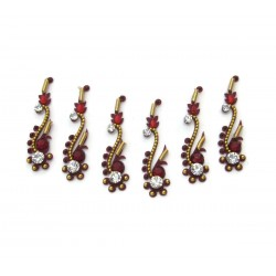 Womens Party Wear Bridal Bindis Body Jewelry Designer Art Handicraft