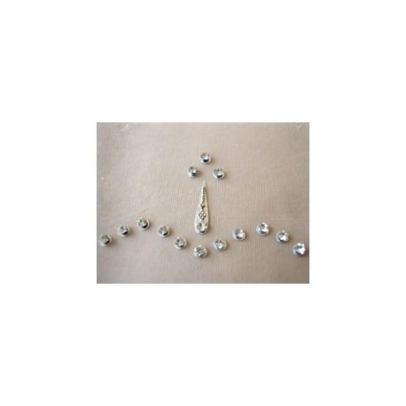 Peer Forehead Eyebrow Decoration Jewels Sticker Body Jewelry