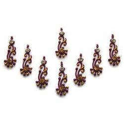 48_100 Stick on Sticker Body Jewelry Fancy Bindi