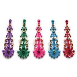 48_98 Stick on Sticker Body Jewelry Fancy Bindi