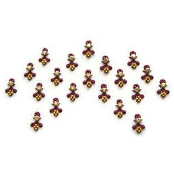 60_44 Bindis Body Jewelry Designer Handicraft