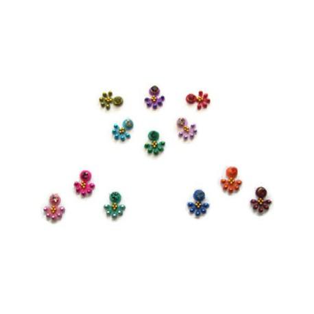 36_105 Stick on Sticker Body Jewelry Fancy Bindi