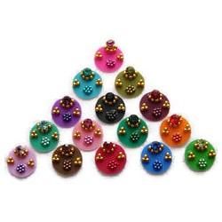 48_93 Stick on Sticker Body Jewelry Fancy Bindi